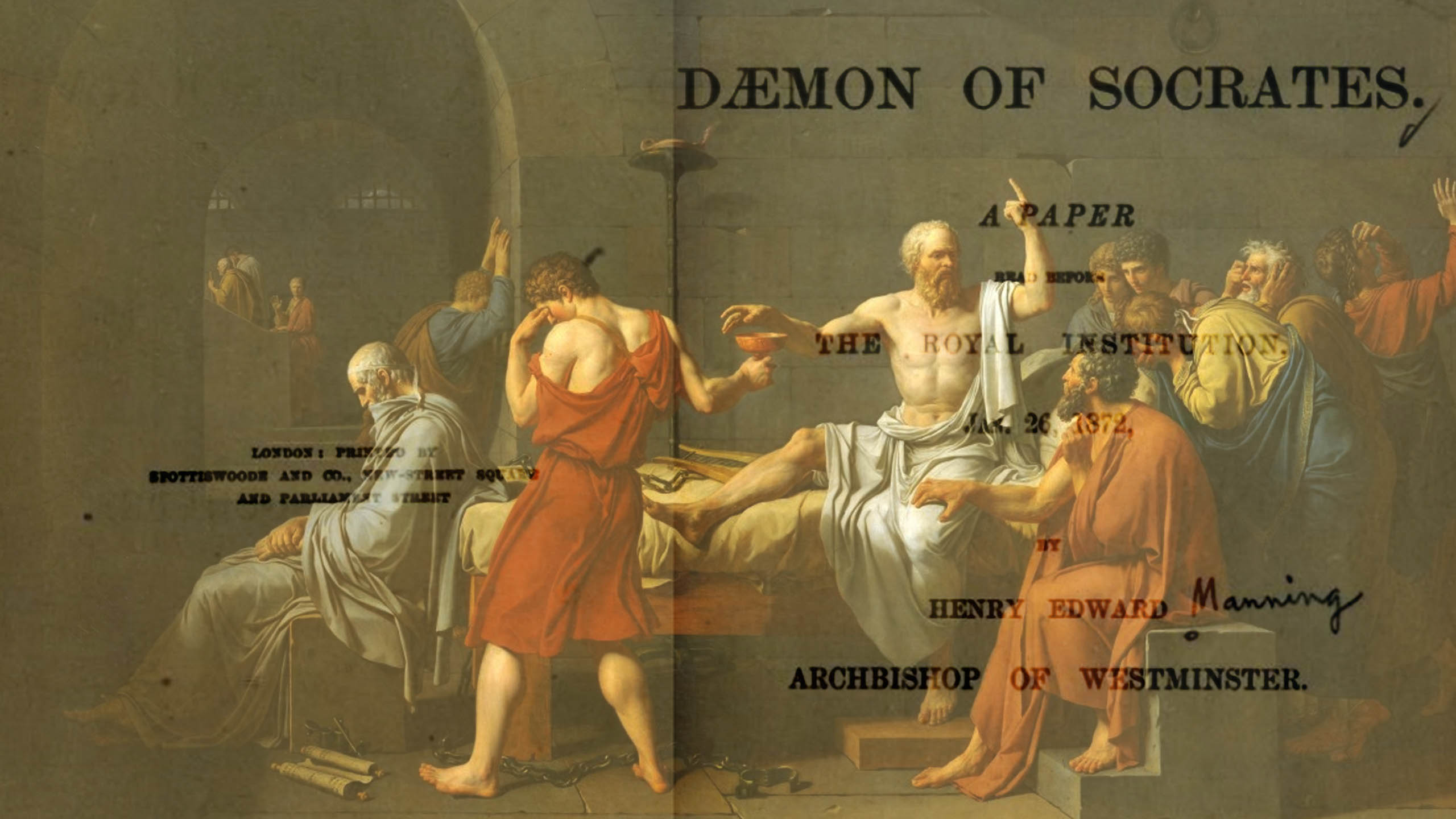 The Daemon of Socrates